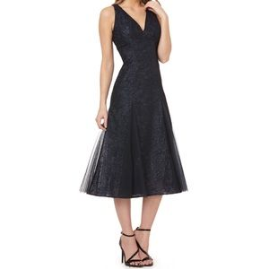 Carmen Marc Valvo Infusion tea length dress 8631